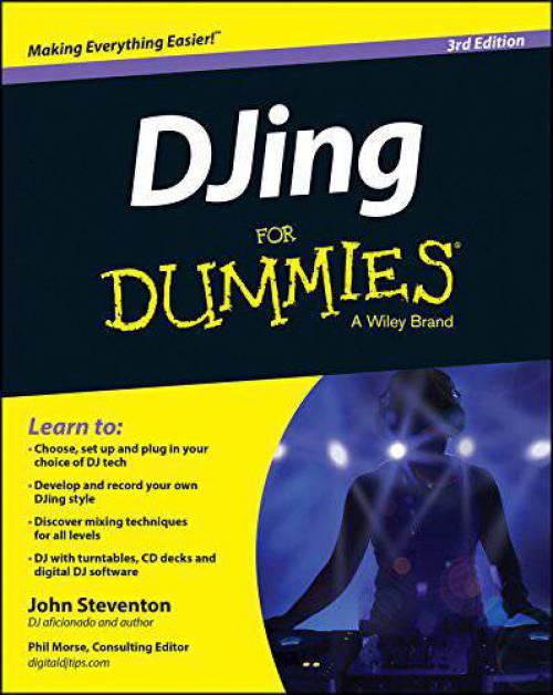 کتاب انگلیسی DJing آموزش دی جی